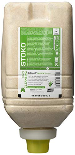 Deb Stoko 33456 Solopol natural unparfümiert Hautreinigung, 2000 mL
