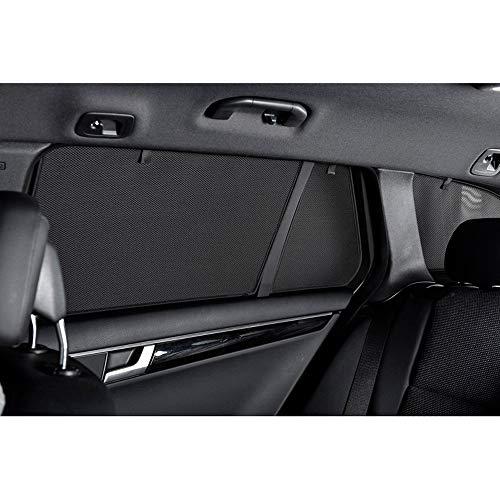 Car Shades HYU-TUCS-5-D Satz Hyundai Tucson 2019, Schwarz