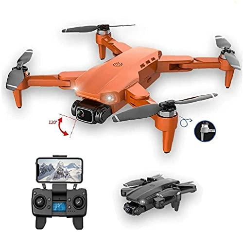 Drone Pieghevole Quadcopter 4K HD Camera GPS RC Drone con 2 batterie Nere