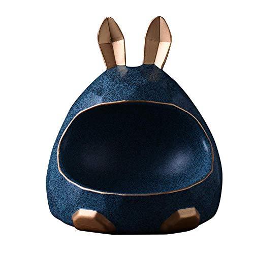 Escultura de Pared de Animales Estatua 3D Piezas de decoración del hogar Caja de Almacenamiento de Escritorio Decoración de Hucha Mesa de Comedor Estatuas de Pared de Animales (Col