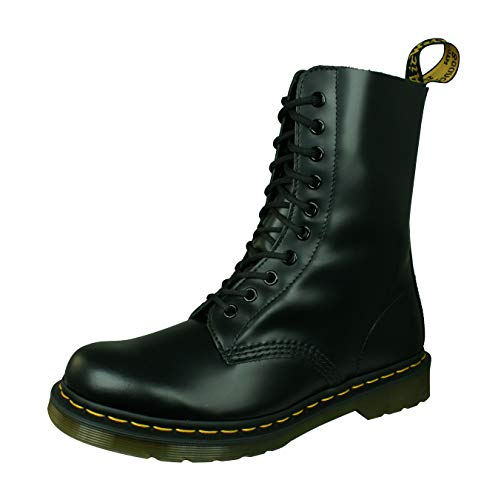Dr. Martens Original 1490Z, Scarpe Unisex Adulto, Nero (Black Smooth), 42