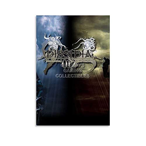 ASDLK Dissidia 012 Duodecim Final Fantasy - Lienzo decorativo para pared (20 x 30 cm)