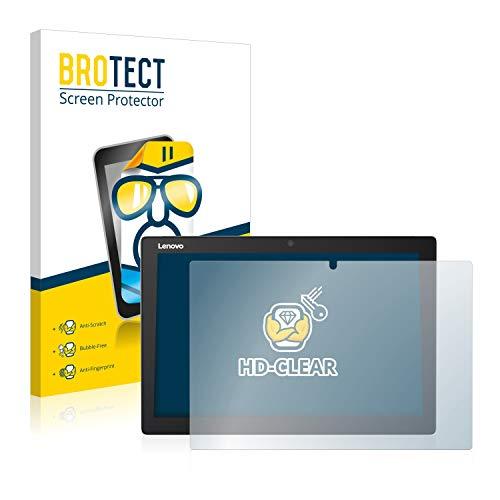 BROTECT Schutzfolie kompatibel mit Lenovo IdeaPad Miix 510-12ISK klare Bildschirmschutz-Folie
