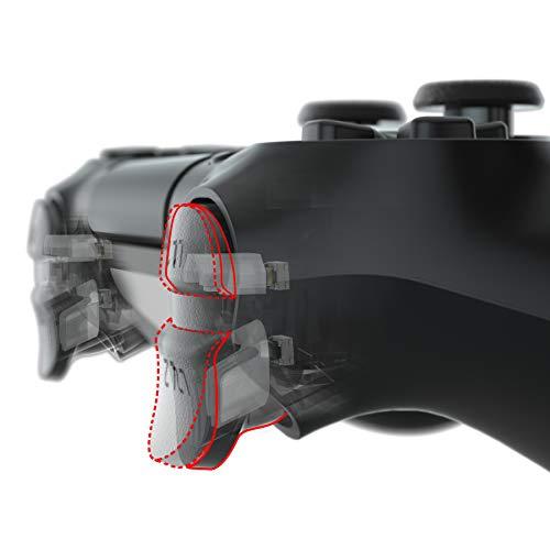 eXtremeRate Clicky Hair Trigger Kit für PS4 CUH ZCT2-Controller Schultertasten,Trigger Kit Flashshot Trigger-Stop Flexkabel für Playstation 4 PS4 Slim/Pro Controller JDM-040/050/055