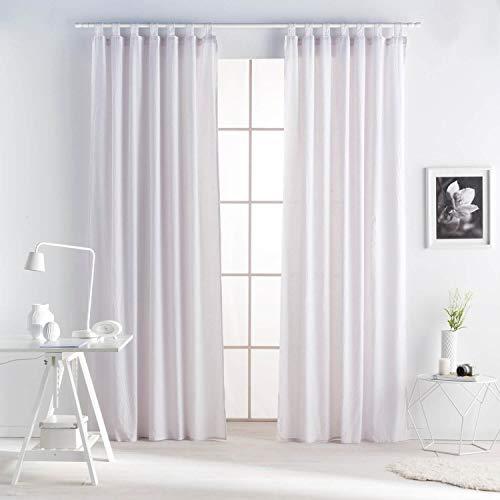 cortinas lino trabillas
