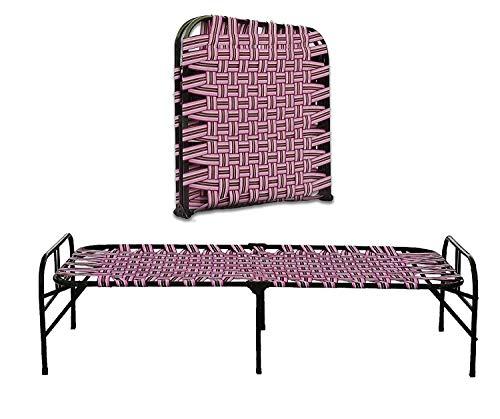 South Whales Heavy Duty Single Folding Metal Bed