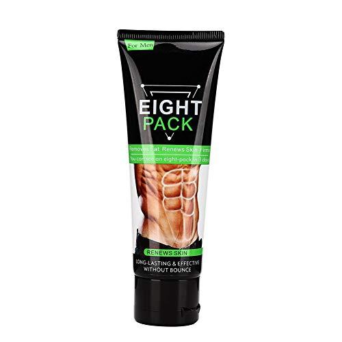 Crema para quemar grasa abdominal, Exhibición de línea de chaleco, Músculo firme, Mostrando la línea de chaleco Adelgazante Adelgazante Ejercicio Crema corporal de coco 80 g