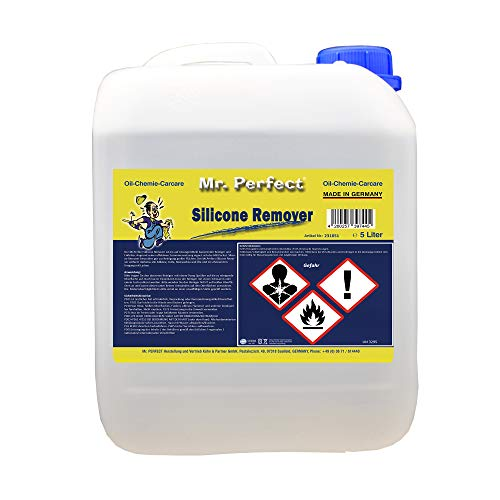 Mr. Perfect® Silikonentferner, Silikonlöser, Entfetter zum Entfernen - 5 Liter