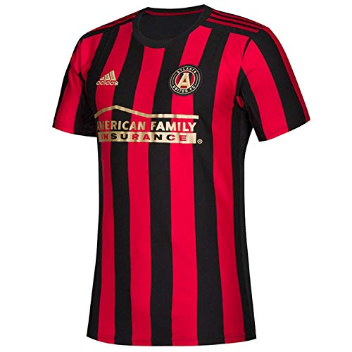 adidas Atlanta United FC Youth Replica Primary Jersey-Black/Red-S