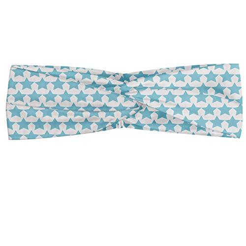 ABAKUHAUS Vintage Blue - Pañuelo para el cuello, diseño cl