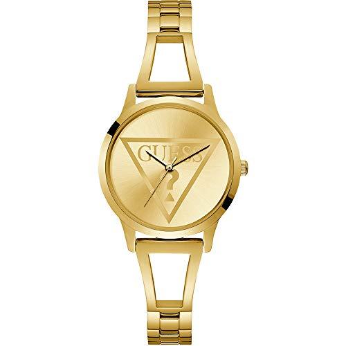 GUESS Reloj Analógico para Mujer de Cuarzo con Correa en Acero Inoxidable 8431242947976