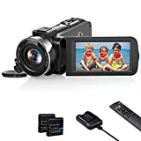 Videocamera 1080P FHD Camcorder 30FPS 36MP Videocamera Vlogging YouTube IR...