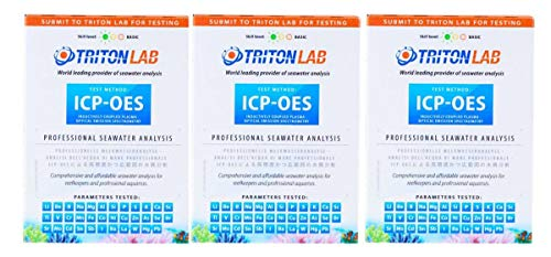 TopReef Triton ICP-OES Analyse 3-Pack