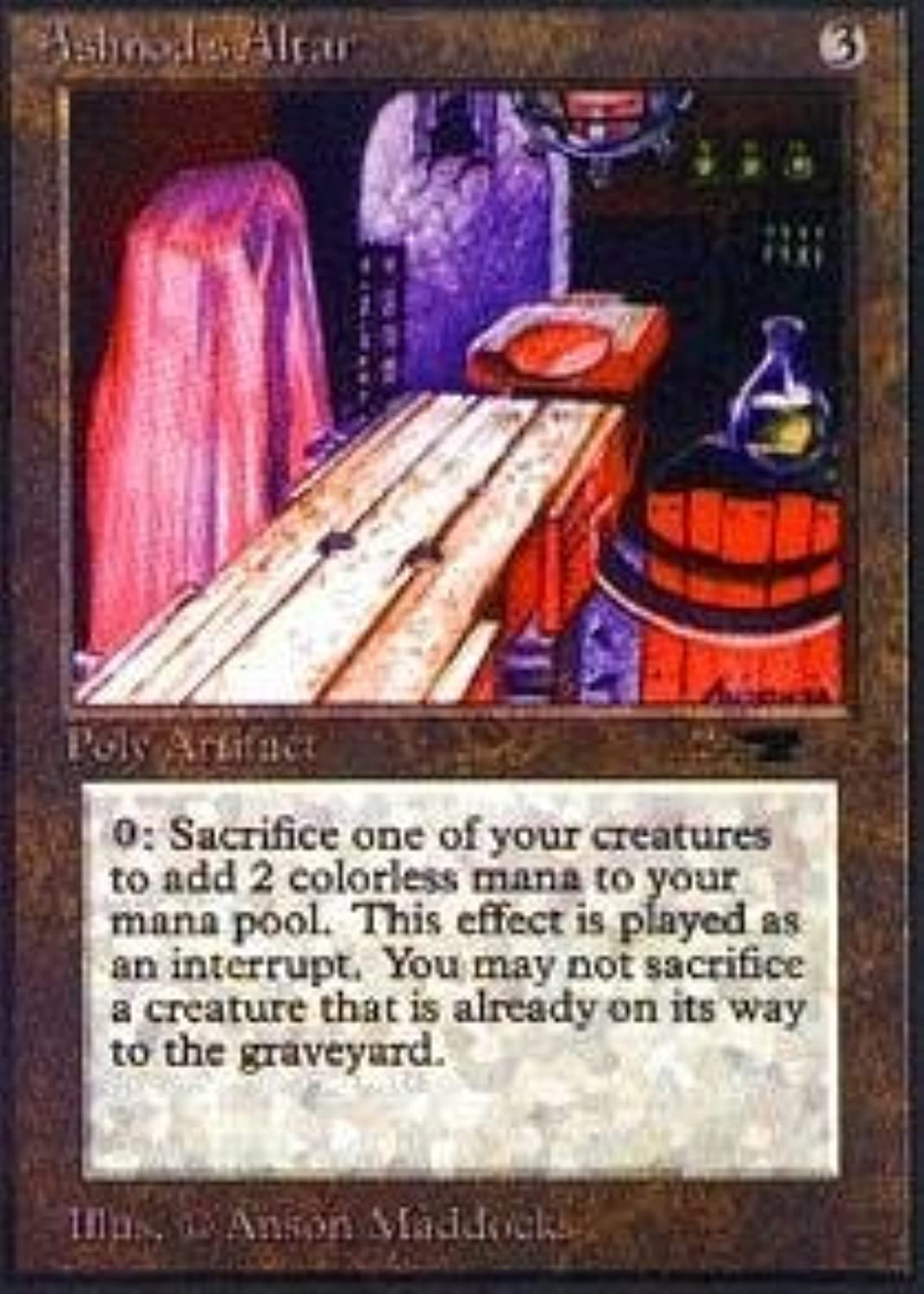 Magic  the Gathering  Ashnod's Altar  Antiquities by Magic  the Gathering