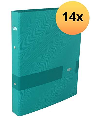 Elba 400116162 Ringband Touch Office A4 14 stuks met rugbreedte 4 cm 2-O-ring mechanisme 30 mm groen