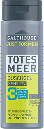 Salthouse Duschgel Men Totes Meer Sensitiv, 250 ml
