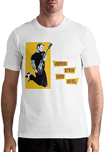 IRRI Social Distortion Somewhere Between Heaven and Hell Comfortable Sports Classic Men's Short Sleeve T-Shirt