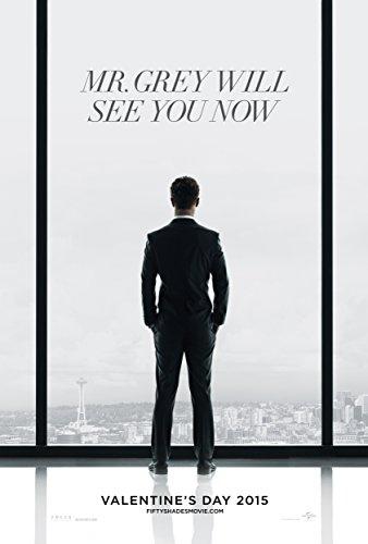 WMG Fifty Shades of Grey - Movie Poster (Thick) (Size: 24 x 36) Jamie Dornan, Dakota Johnson