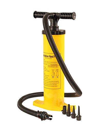Jobe Double Action Hand Pump Gelb 410400021 Luftpumpe Handpumpe Schlauchpumpe Tube Luft Pumpe