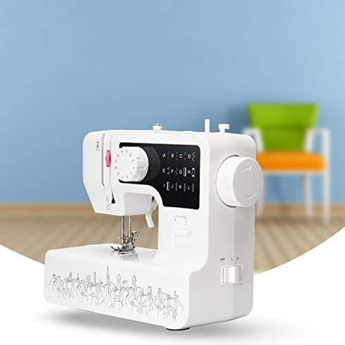 HHORD Mini-Nähmaschine Elektrische Bewegliche Nähmaschine, Fußpedal, Nadelschutz Für Anfänger Haushalt Reisen