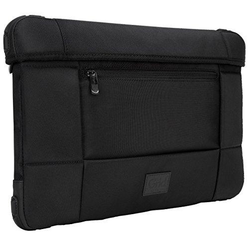 Targus Grid Mil Spec Rugged Slipcase for Laptops Up To 15.6 Inches, Black (TSS845)