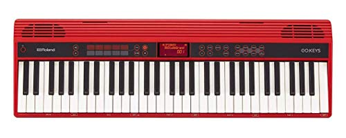 Roland GO:KEYS 61-key Music Creation Piano Keyboard with Integrated Bluetooth Speakers (GO-61K) (Renewed)