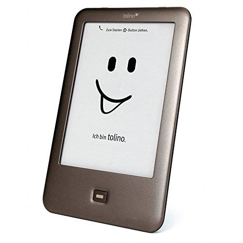 Tolino Shine Touchscreen 4GB WLAN Braun - eBook-Reader (15,2 cm (6 Zoll), E Ink, 1024 x 758 Pixel, ePub,PDF,TXT, 4 GB, MicroSD (TransFlash),MicroSDHC)