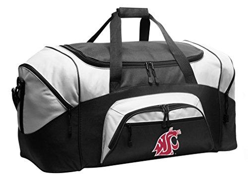 Large Washington State Duffel Bag Washington State University Suitcase or Gym Bag for Men Or Her