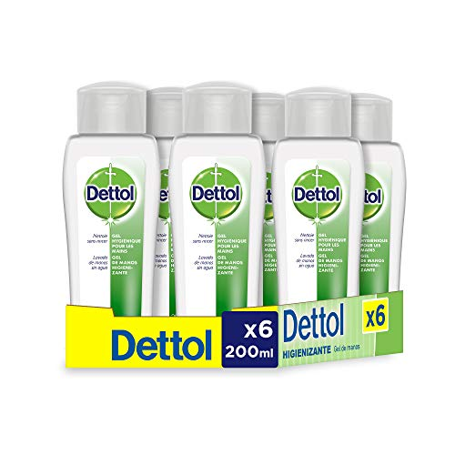 Dettol Gel hidroalcoholico higienizante de manos - 200 ml x