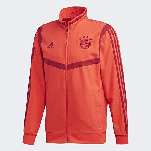 adidas FCB Pre JKT Jacke, Herren M Rojbri/Maract
