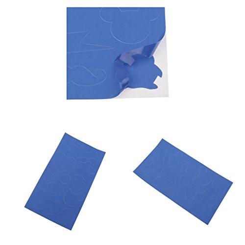 lahomia Kit de Parche de Reparación de Chaquetas de Nailon Autoadhesivo de 2 Piezas