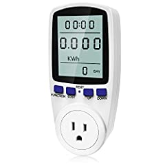 Electricity usage monitor: Monitor is the killer of the high-cost energy appliance, helping you lower power consumption and save money. Digital LCD Display: Large clear LCD display for easy reading, the screen size is 47cm*60cm. Various Parameters: P...