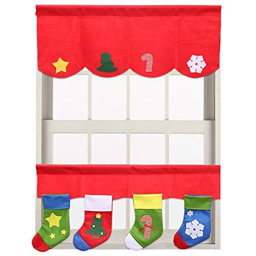 Picturesque Cenefa de Navidad para decoración de Ventanas, de, D, 2