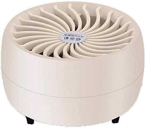 XXCZB Mücken Mückenschutz elektrische Sicherheit intelligente Lichtsteuerung Mückenlampe Schlafzimmer Schlaf stumm 5W USB niedlich LED Lampe Fallenlicht-Beige_