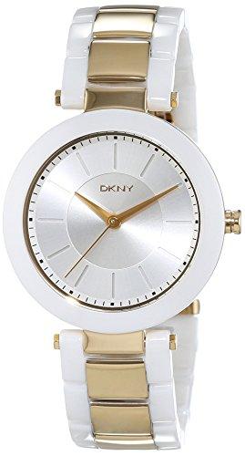 DKNY Damen-Armbanduhr Analog Quarz Keramik NY2289