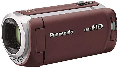 パナソニック HDビデオカメラ 64GB ワイプ撮り 高倍率90倍ズーム ブラウン HC-WZ590M-T