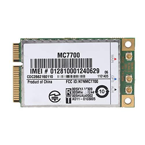 Ycncixwd Mini PCI-E 3G4G WWAN Módulo GPS MC7700 PCI Express 3G HSPA LTE Tarjeta inalámbrica