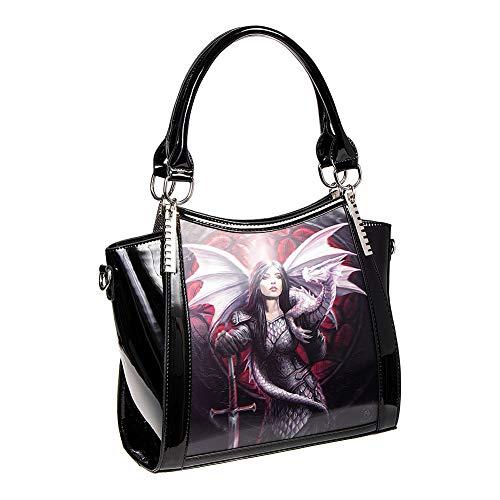 Valour - Gothic Fantasy Lenticular 3D Handbag by Anne Stokes