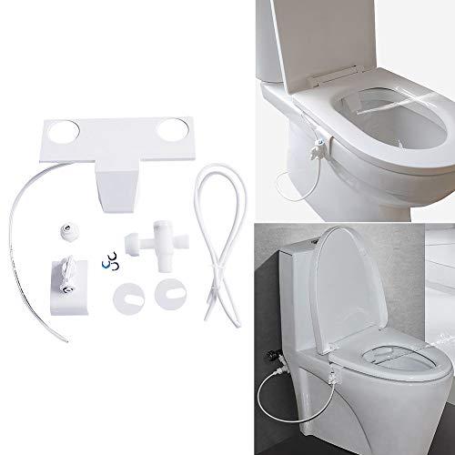 FADDARE Bidet-Aufsatz, Nicht elektrisches Bidet-Spül-Sanitärgerät, selbstreinigender Sprüh-Toilettensitz-Aufsatz, Bidet-Frischwassersprühgerät mit manueller Steuerung für die Heck- und Damenwäsche