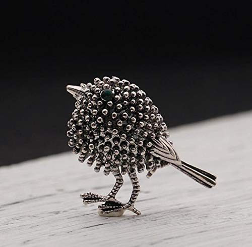 Sxuefang Brooch Simple Cute Two-Color Chick Brooch Small Men'S And Women'S Chest Needle Pins