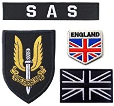 Oyster-Patch UK Army United Kingdom British Special Air Service SAS Tactical Patch Hook & Loop