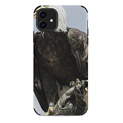 Funda para teléfono celular Apple águila (12) patrón Customed Iphone Accesorios a prueba de golpes anti-caída caso de protección para mujeres hombres adolescentes iPhone 11