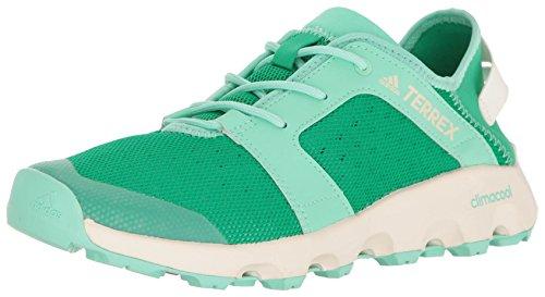 adidas Outdoor Damen Terrex Climacool Voyager Sleek Wasserschuh, Kerngrün/Kreide weiß/leicht grün, 36 EU