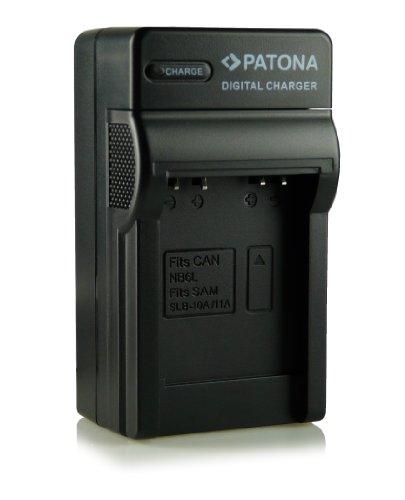 Cargador NB-6L para Canon Digital Ixus 85 IS, 95 IS, 105, 200 IS, 210 IS, 300 HS y 310 HS, Canon PowerShot D10, D20, S90, S95, SX240 HS, SX260 HS, SX270 HS, SX280 HS, SX500 IS, etc.