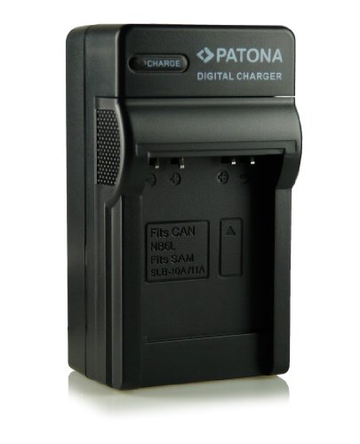 Cargador NB-6L para Canon Digital Ixus 85 IS, 95 IS, 105, 200 IS, 210 IS, 300 HS y 310 HS,...