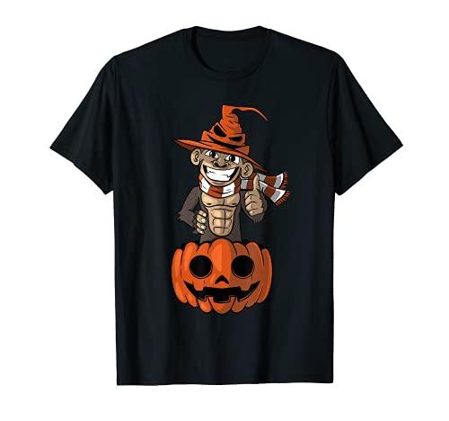 Halloween Mono Calabaza Camiseta