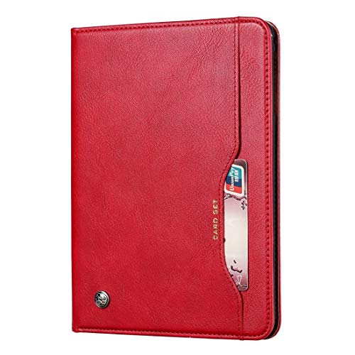 GLXC AYDD Knead Skin Texture Horizontal Flip Leather Case for Galaxy Tab S5e 10.5 T720 / T725, with Photo Frame & Holder & Card Slots & Wallet(Black) (Color : Red)