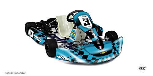 Kit Deco Karting KG 506 Start Turquesa