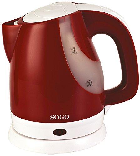 Sogo SS-5760 Bouilloire électrique Rouge/blanc