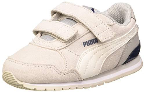 PUMA Unisex Baby ST Runner v2 SD V Inf Sneaker, Gray Violet-Whisper White Black White, 21 EU